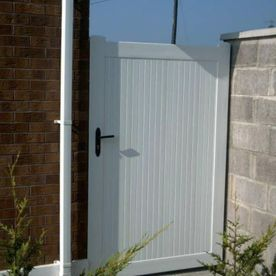 PVC White Side Gates